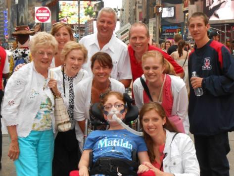 Time Square & Broadway Show Matilda