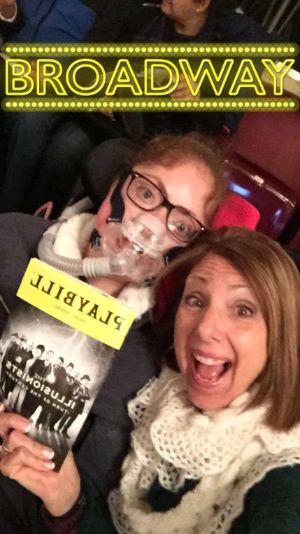 Broadway Show with Mom!