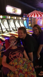 Dave and Busters with my cousins!
