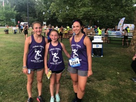 CCBLWishes supporters caught at the Summer Run Series!
